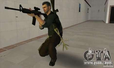 Sam Fisher for GTA San Andreas forth screenshot
