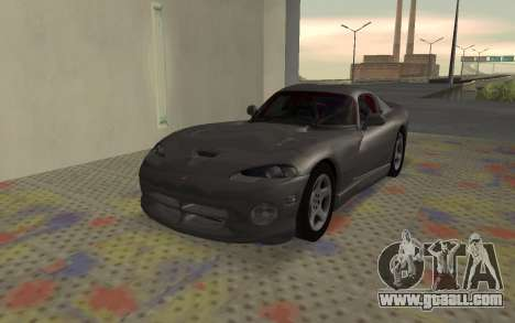 Dodge Viper GTS Tunable for GTA San Andreas