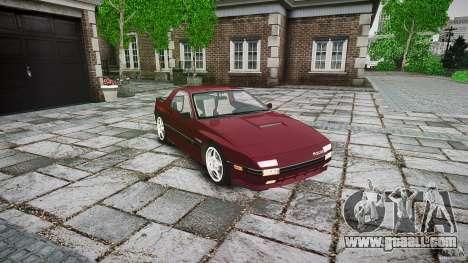 Mazda RX7 FC3S for GTA 4 right view