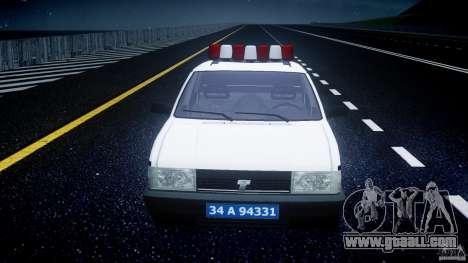 Tofas Sahin Turkish Police v1.0 for GTA 4 side view