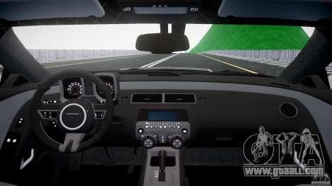 Chevrolet Camaro for GTA 4 right view