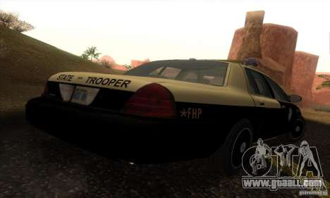 Ford Crown Victoria Florida Police for GTA San Andreas left view