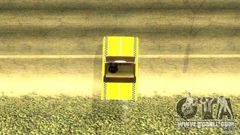 Crazy Taxi - B.D.Joe for GTA San Andreas back left view