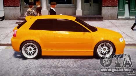 Audi A3 Tuning for GTA 4