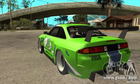 Nissan Silvia S14 GT for GTA San Andreas back left view