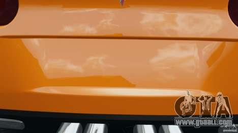 Chevrolet Corvette C6 Grand Sport 2010 for GTA 4 engine