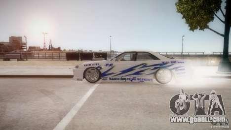 Nissan Skyline R-34 v1.0 for GTA 4 left view