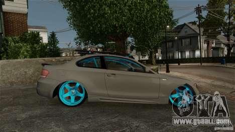 BMW 135i HellaFush for GTA 4 right view