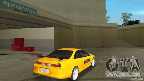 Honda Accord Coupe Tuning for GTA Vice City right view