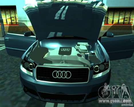 Audi A4 Cabrio for GTA San Andreas left view