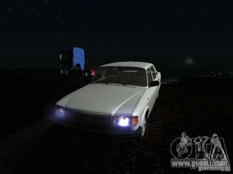 Volga GAZ 31029 for GTA San Andreas upper view