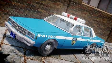 Chevrolet Impala Police 1983 v2.0 for GTA 4