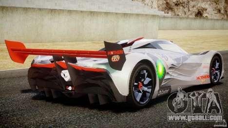 Mazda Furai Concept 2008 for GTA 4 bottom view