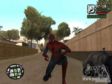 Spider-man 2099 for GTA San Andreas forth screenshot