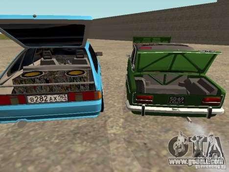 Moskvich 2141 for GTA San Andreas wheels