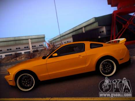 Ford Mustang GT 2010 Tuning for GTA San Andreas left view