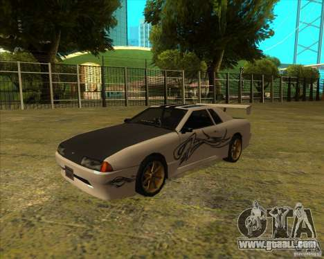 Elegy with new spoilers for GTA San Andreas right view