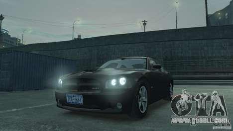 Dodge Charger 2007 SRT8 for GTA 4