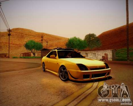 Honda Prelude Tunable for GTA San Andreas inner view