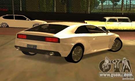 Audi Quattro Concept 2013 for GTA San Andreas left view