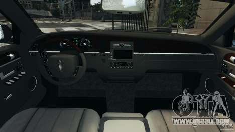 Lincoln Town Car 2006 v1.0 for GTA 4 back view