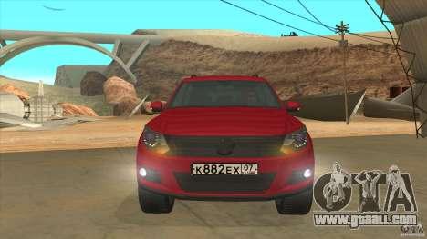 Volkswagen Tiguan 2012 v2.0 for GTA San Andreas side view
