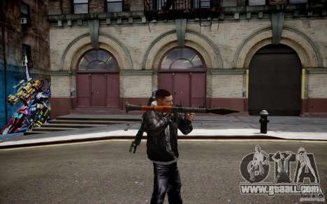RPG-7 of MW3 for GTA 4