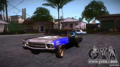 Chevrolet Chevelle SS DC for GTA San Andreas