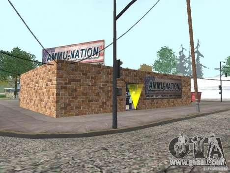 Modified Angel Pine village for GTA San Andreas forth screenshot