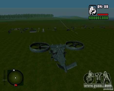 SA-2 Samson for GTA San Andreas right view