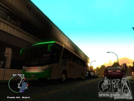 Bus Kramat Djati for GTA San Andreas left view