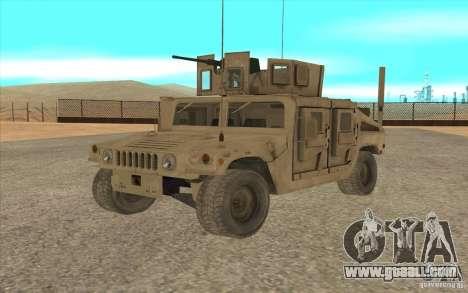 Hummer H1 Military HumVee for GTA San Andreas