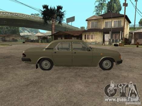 GAZ 3110 v 1 for GTA San Andreas left view