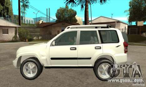 Jeep Liberty 2007 for GTA San Andreas left view