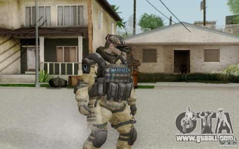 An engineer from Warface for GTA San Andreas second screenshot