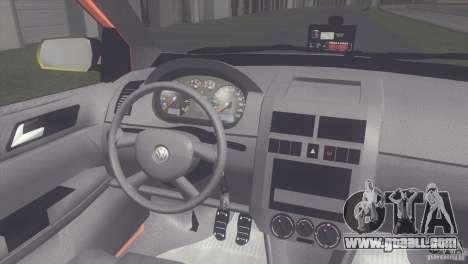 VW Polo Taxi de Porto Alegre for GTA San Andreas right view