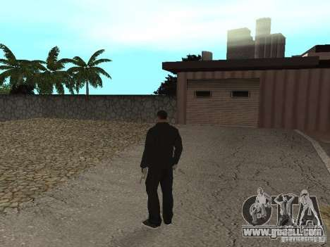 CJ Mafia Skin for GTA San Andreas forth screenshot