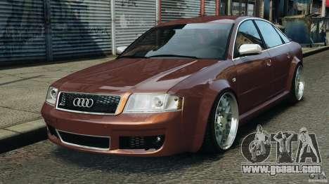 Audi RS6 2003 for GTA 4