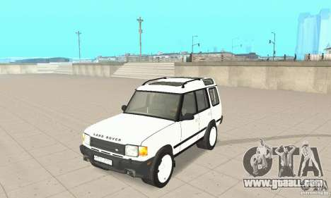Land Rover Discovery 2 for GTA San Andreas