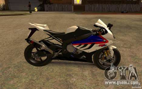 BMW S1000RR City Version for GTA San Andreas right view