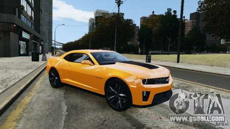 Chevrolet Camaro ZL1 2012 for GTA 4