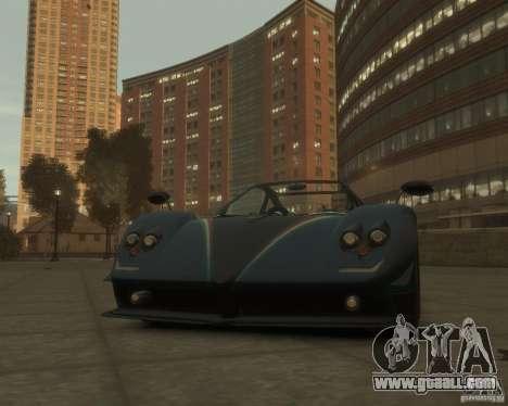 Pagani Zonda Tricolore for GTA 4 left view