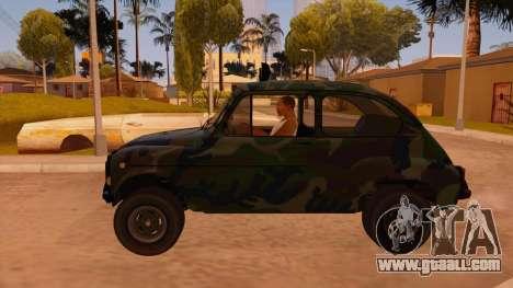 Zastava 750 4x4 Camo for GTA San Andreas left view