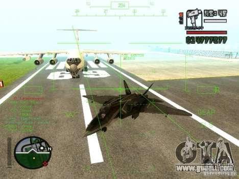 Xa-20 razorback for GTA San Andreas back left view
