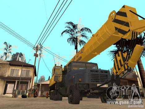 MKAT-40 based on Kraz-250 for GTA San Andreas
