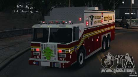 FDNY Rescue 1 [ELS] for GTA 4 side view