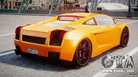 Lamborghini Gallardo Superleggera for GTA 4 right view