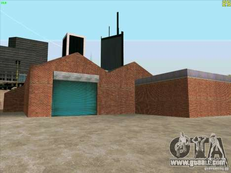 New garage in Doherty for GTA San Andreas second screenshot
