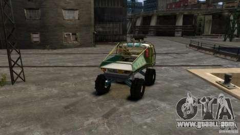UAZ Goliath Prototype for GTA 4 left view