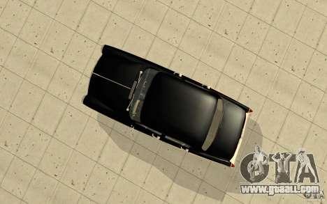 Black Lightning for GTA San Andreas forth screenshot